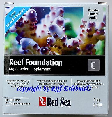 Red Sea Reef Foundation C 1kg Magnesiumcomplex Mg Powder 23,95€/kg