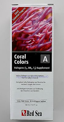 Red Sea Coral Colors A 500ml Jod Halogenkomplex  29,90€/L