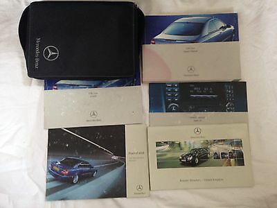 Mercedes CLK Class Owners Manual Book 2001-2008