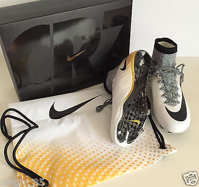 Nike Mercurial Superfly CR SE FG 839622-109 Limited CR7 324K GOLD Soccer Cleats