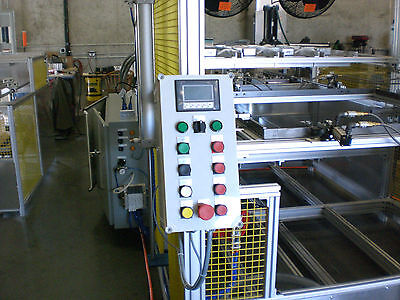 "Sibe Automation Vacuum Forming Machine 48"" X 72"" Thermoforming Dual Heat *"