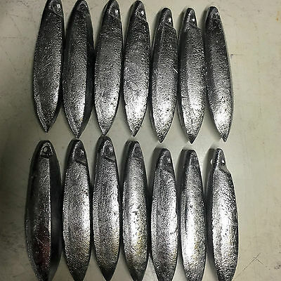 Snapper Reef Lead Fishing Sinkers 12oz x 14  Other sizes available