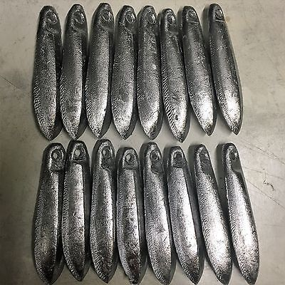 Snapper Reef Lead Fishing Sinkers 4oz x 16  Other sizes available