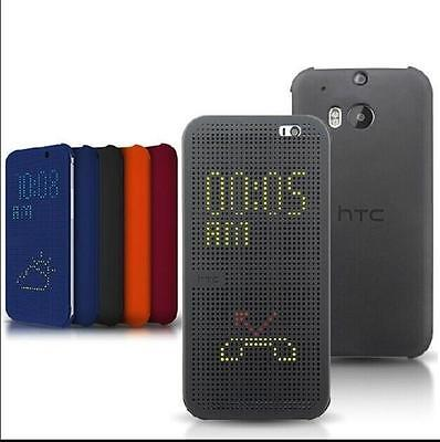 HTC DOT VIEW Premium Flip Smart CASE COVER FOR HTC ONE M8 M9 A9 626 820 E9 B810X
