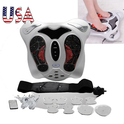 Electric FootMassager Circulation Blood Booster Infrared Deluxe MedicalHealth