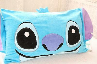 Blue Stitch pillowcase Back to school home decore pillow cover