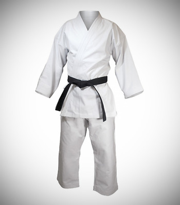 8 oz KARATE UNIFORMS -  100% COTTON   SIZE 00/120