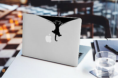 Decal for Macbook Pro Sticker Vinyl laptop mac funny cool air 11 13 15 apple cat