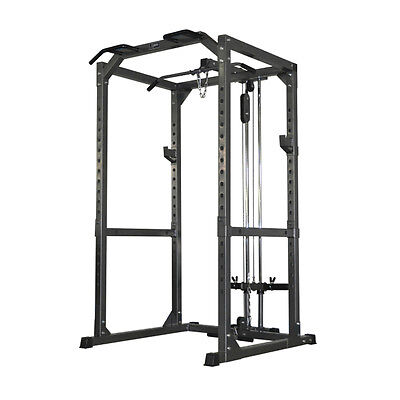 Accesorio Hi Pulley/low Row Para Jaula Power Rack - Dkn Technology