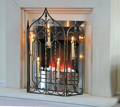 The Waterford Fire screen & Fire Guard