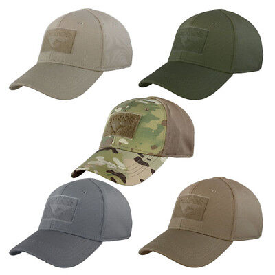 Condor Flex Fit Tactical Baseball Cap Multicam, Grey, Green + more