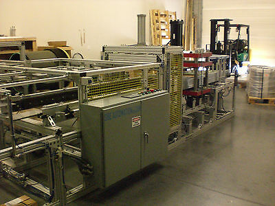 "Sibe Automation Roll Fed Form Trim Stack Vacuum Forming Machine 24"" X 18"""