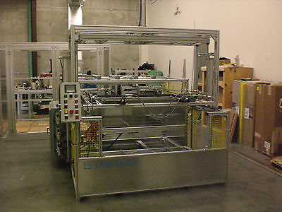 "Sibe Automation Vacuum Forming Machine 36"" X 48"" Thermoforming Dual Heat Platen"