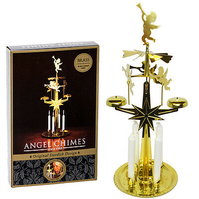 Original Swedish Angel Chimes - Spinning Christmas Chimes - Spare Candles