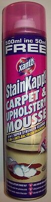 3X  Xanto StainXapp Carpet & Upholstery Mouse 500ML