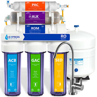 10 Stage Home Residential Alkaline Mineral Infrared Reverse Osmosis System 50GPD