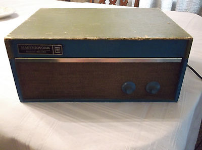 Vintage Masterwork Solid State Phonograph By Columbia Works Well