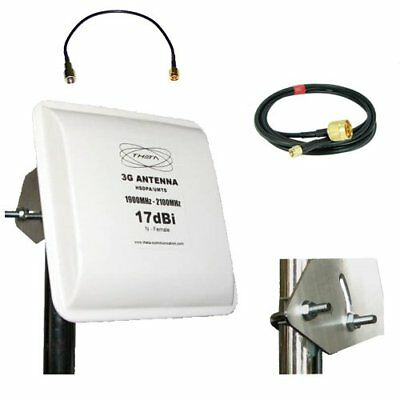 Antenna Aerial Booster 2100Mhz for SOLID WCDMA Home Repeater HR-3CHA-0202 Three
