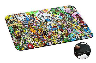 005 Adventure time Anti-slip Mousepad Mouse Pad For Macbook PC Laptop-3MM