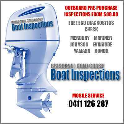 Outboard Pre-Purchase Inspections - Brisbane - Gold Coast