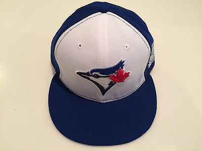 d71656a54b1 Toronto Blue Jays MLB Baseball Hat Cap New Era 40th Season Patch 59fifty 7  5
