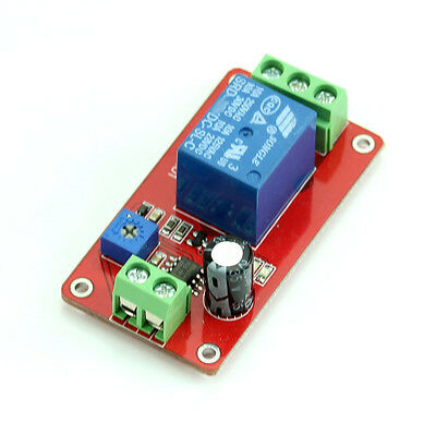 Useful NE555 DC 12V Delay Timer Relay Adjustable Delay Switch 1 to 20 Second