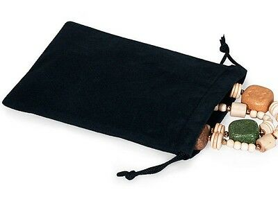 5x7 Jewelry Pouches Velour Velvet Gift Bags Pack of 25 PCS 10 Colors Available