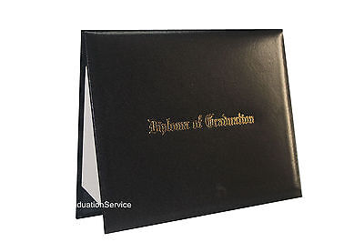 """Smooth Imprinted """"Diploma Of Graduation"""" Certificate Cover 8 1/2"""" x 11"""""""