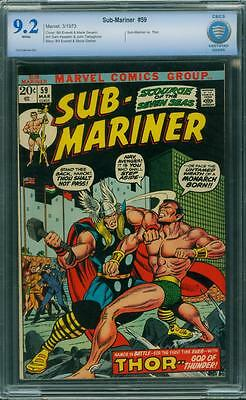 Sub-Mariner 59 Cbcs 9.2 - White Pages