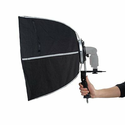 Selens Studio Lighting 60cm Hexagon Softbox With L-Shape Adapter Ring Photo Accs
