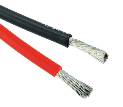 Red / Black 12AWG Silicone Stranded 680/0.08mm Wire