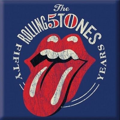 The Rolling Stones 50th Anniversary Vintage Magnet
