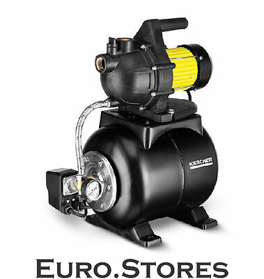 Karcher BP 3 Home Booster Pump With Pressure Tank Stainless Steel Genuine New