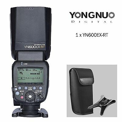 Yongnuo YN600EX-RT Wireless Flash Speedlite HSS TTL Master for Yongnuo YN-E3-RT