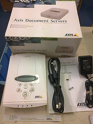 Axis 70U Network Document Server Supplied With Uk Power Supply & Leads  New