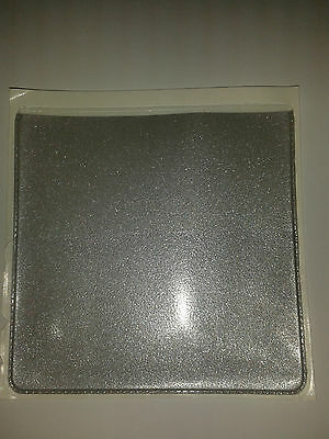 EXTRA POCK FOR CARD PARKING PERMIT HOLDER IN BURGUNDY LEATHER LOOK PVC