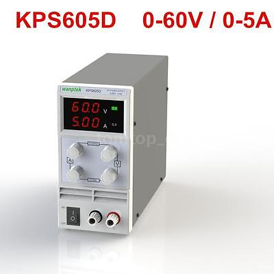 3 Digits LED Regulated Switching DC Power Supply Variable Adjustable 60V 5A V4C0
