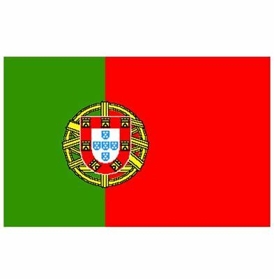 Portugal Portugese Large Flag 5X3Ft 5'x3' New Packed Eyelets For Hanging