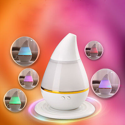 7 Color 200ML LED Ultrasonic Air Humidifier Purifier Aroma Diffuser Aromatherapy