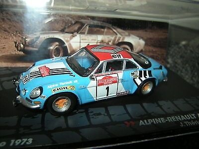 Alpine Renault A110 1800  Therier  Rally Sanremo 1973