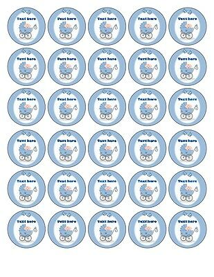 30 x4cm CASINO EDIBLE WAFER//FONDANT PAPER CUP CAKE TOPPERS