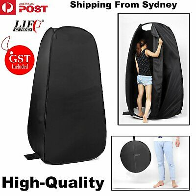 190CM Portable Pop Up Outdoor Camping Shower Tent Toilet Privacy Change Room AU