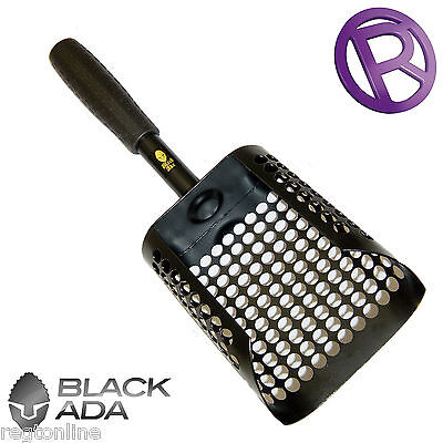 Mild Steel Sand Scoop - Black Ada
