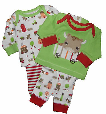 Baby Pyjamas 2 Pack Newborn Tiny Baby and Early Baby Ex Mother and Baby Store