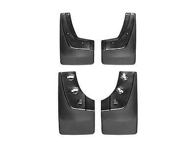 WeatherTech No-Drill MudFlaps for GMC Sierra 2500/3500 - 2015-2016 - Full Set