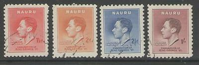 Nauru Sg44/7 1937 Coronation Fine Used
