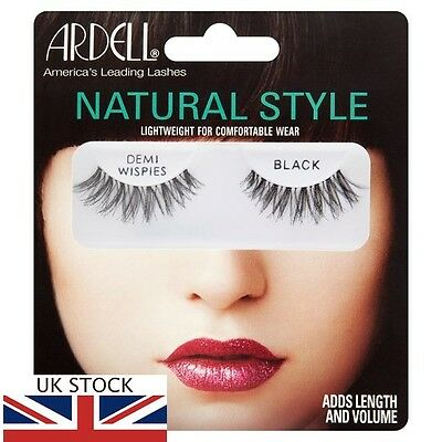 Ardell Fashion Lashes Demi - Wispies In Black Uk Supply