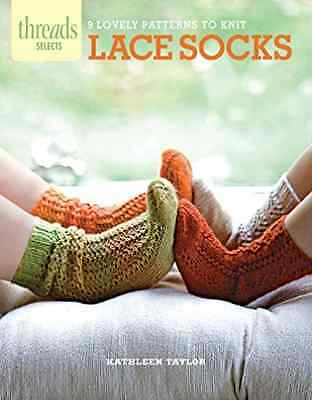 Kathleen Taylor-Lace Socks  BOOK NEW