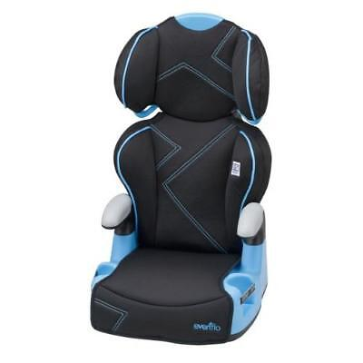Evenflo AMP High Back Car Seat Booster, Blue Angles New