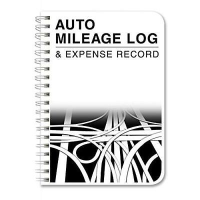 BookFactory Auto Mileage Log Book / Automobile Expense Record Notebook - 124 New